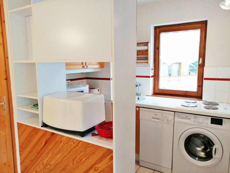 Аренда на лыжном курорте Апартаменты 3 комнат 6 чел. (A01) - Résidence les Verdets - Morillon - Кухня