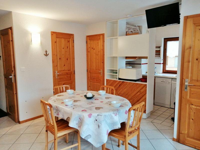 Аренда на лыжном курорте Апартаменты 3 комнат 6 чел. (A01) - Résidence les Verdets - Morillon - Небольш&