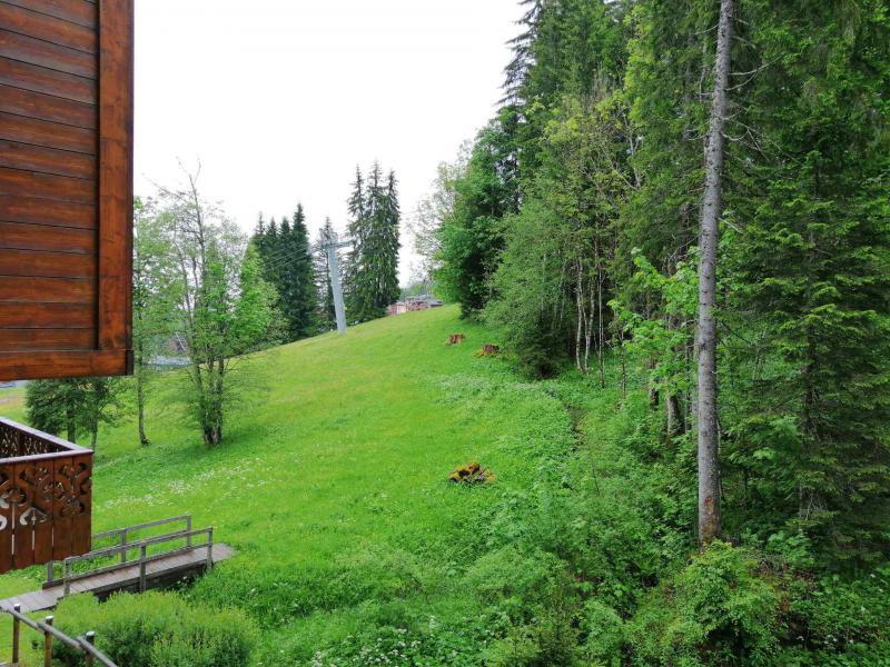 Аренда на лыжном курорте Апартаменты 3 комнат 7 чел. (02) - Résidence Refuge de l'Alpage - Morillon - апартаменты