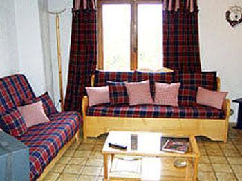 Location au ski Chalet 4 pièces 8 personnes - Chalet Grand Massif - Morillon - Canapé