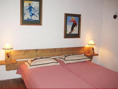 Location au ski Chalet 4 pièces 8 personnes - Chalet Grand Massif - Morillon - Chambre