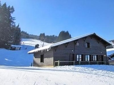 Location Morillon : Chalet Haute-Savoie hiver