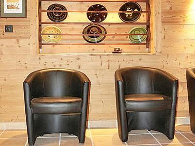 Rent in ski resort Chalet Haute-Savoie - Morillon - Armchair