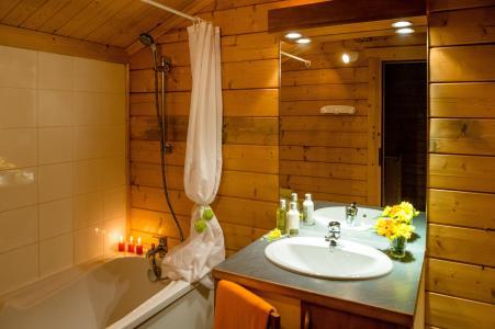 Аренда на лыжном курорте Les Chalets du Bois de Champelle - Morillon - Ванная