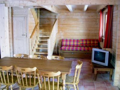 Location au ski Chalet duplex 4 pièces 8 personnes - Les Chalets Du Bois De Champelle - Morillon - Séjour