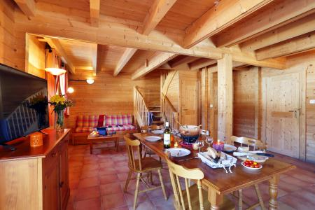 Аренда на лыжном курорте Les Chalets du Bois de Champelle - Morillon - Столова&