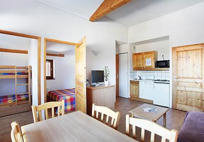Location au ski Residence Le Buet - Morillon - Coin repas