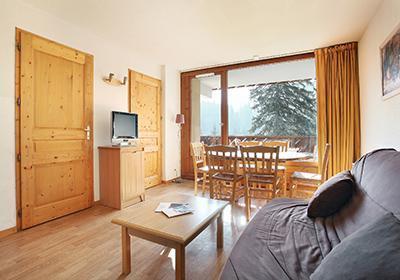 Location au ski Residence Le Buet - Morillon - Séjour
