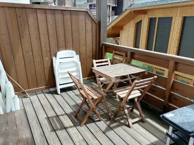 Location au ski Appartement 3 pièces 6 personnes (JABB06) - Résidence les Jardins Alpins - Morillon - Balcon