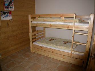 Location au ski Appartement 3 pièces 7 personnes (02) - Residence Refuge De L'alpage - Morillon - Lits superposés