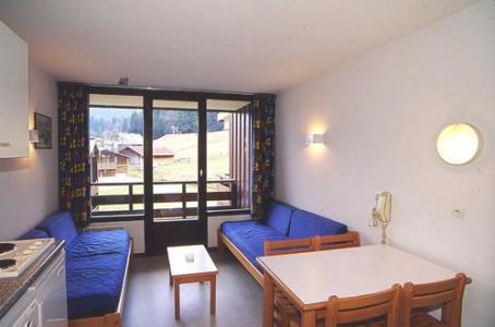 Location au ski Studio 4 personnes - Residences Du Plateau Des Esserts - Morillon - Séjour