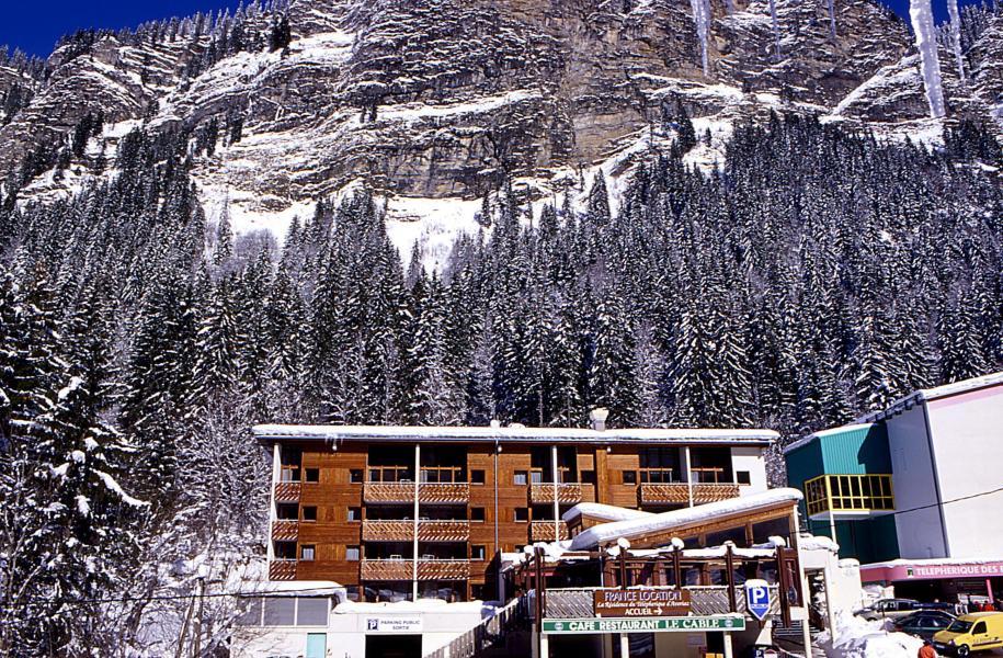 Vacances en montagne La Résidence du Téléphérique - Morzine - Extérieur hiver