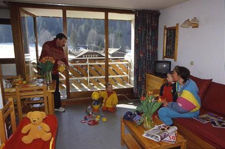 Location au ski Appartement 3 pièces 6 personnes - La Residence Du Telepherique - Morzine - Balcon
