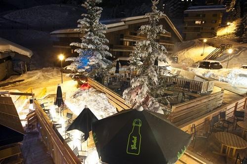 Location au ski Hotel Le Mottaret - Mottaret - Extérieur hiver