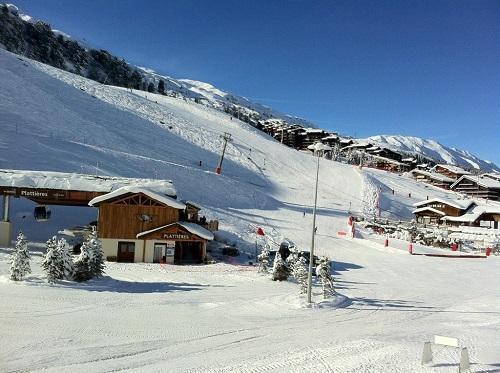 Location au ski Hotel Mont Vallon - Mottaret - Plan