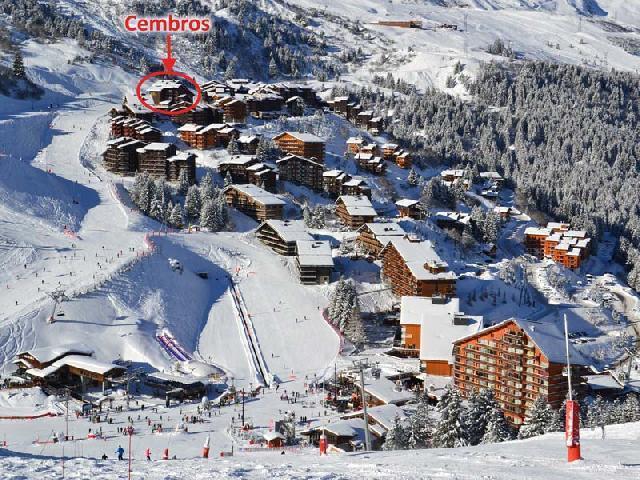 Location au ski La Residence Cembros - Mottaret