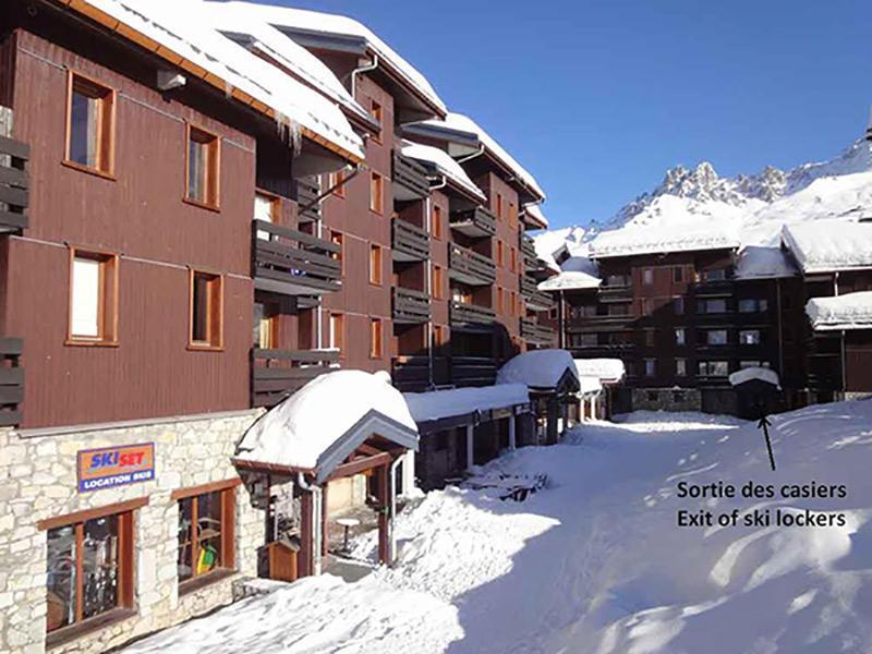 Location au ski Residence Candide - Mottaret - Extérieur hiver