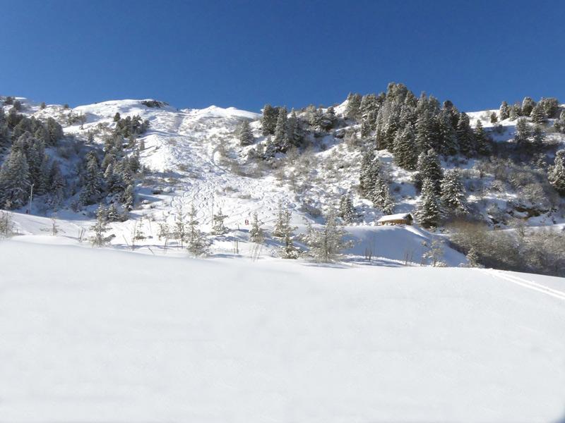 Location au ski Appartement 3 pièces 6 personnes (025) - Residence Cimes Ii - Mottaret - Coin repas