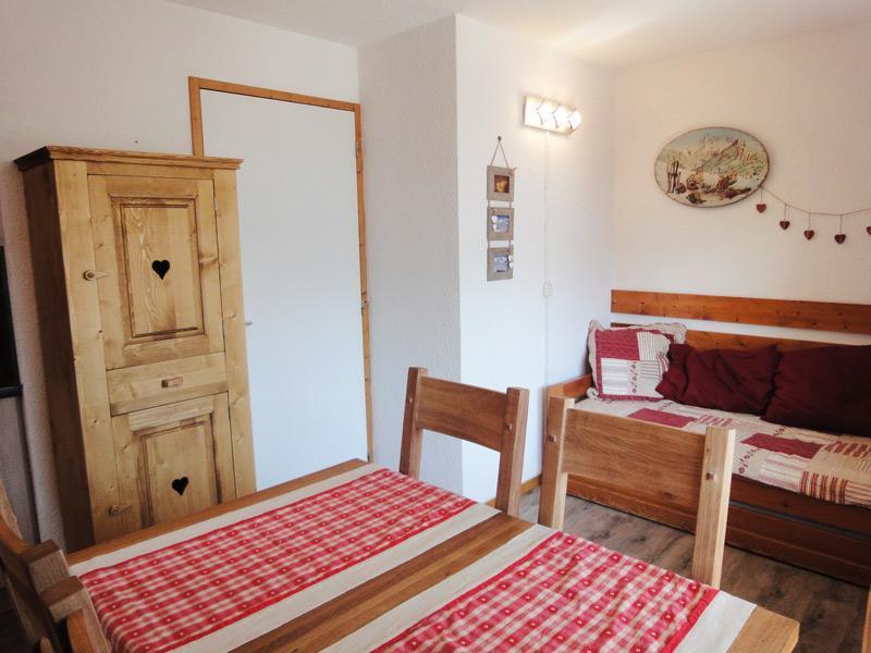 Location au ski Appartement 3 pièces 6 personnes (025) - Residence Cimes Ii - Mottaret - Lit double