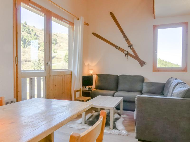 Location au ski Appartement 3 pièces 6 personnes (025) - Residence Cimes Ii - Mottaret - Séjour