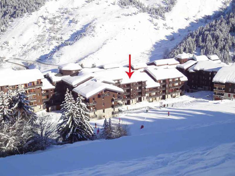 Location au ski Residence Creux De L'ours Bleu - Mottaret