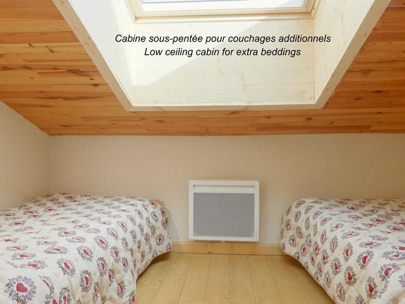 Location au ski Appartement 2 pièces mezzanine 6 personnes (153) - Residence Creux De L'ours Bleu - Mottaret