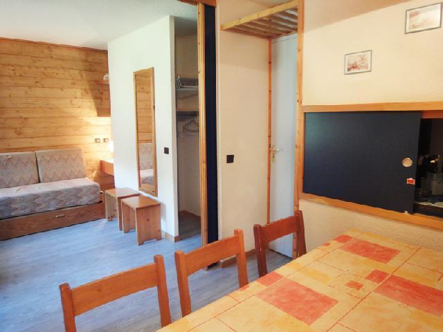 Location au ski Studio coin montagne 4 personnes (138) - Residence Creux De L'ours Bleu - Mottaret