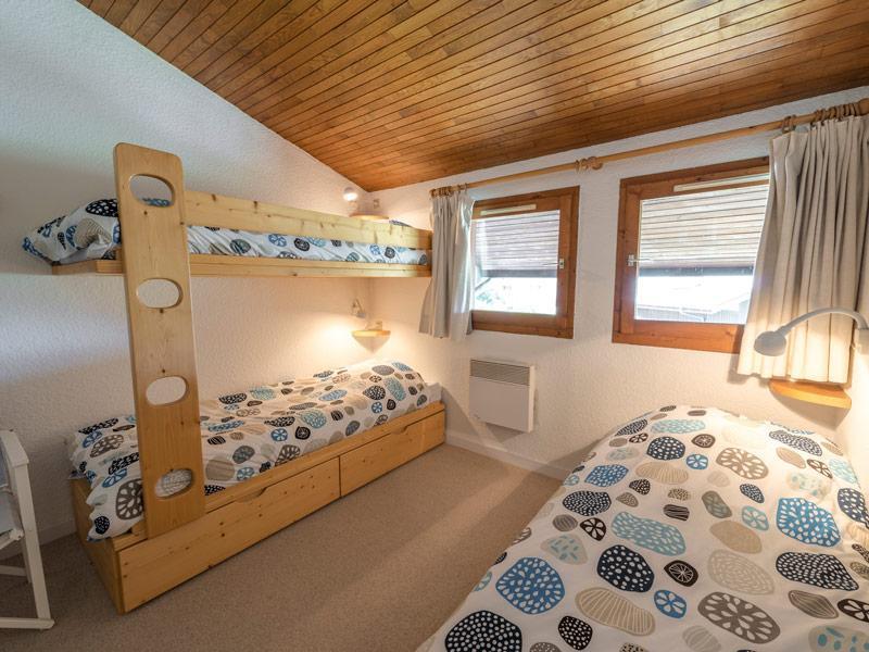 Location au ski Appartement duplex 3 pièces 7 personnes (027) - Residence Erines - Mottaret - Baignoire
