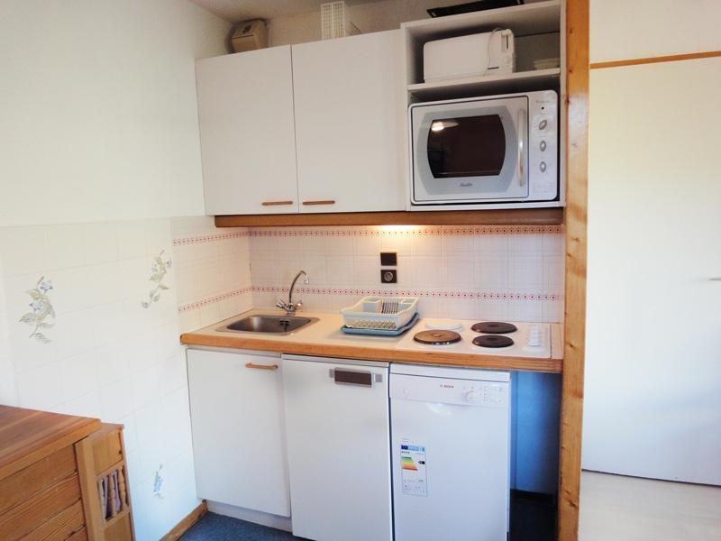 Location au ski Appartement 2 pièces 4 personnes (004) - Residence Gentianes - Mottaret - Lits superposés