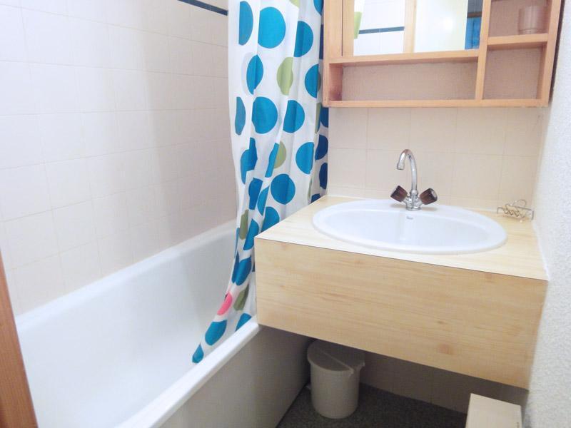 Location au ski Appartement 2 pièces 4 personnes (004) - Residence Gentianes - Mottaret - Séjour