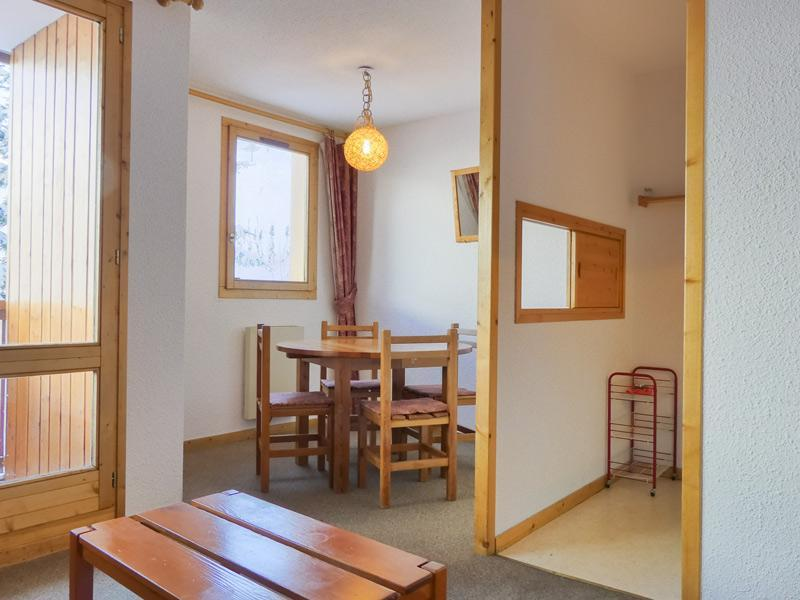 Location au ski Studio cabine 4 personnes (10) - Residence Gentianes - Mottaret - Lits superposés