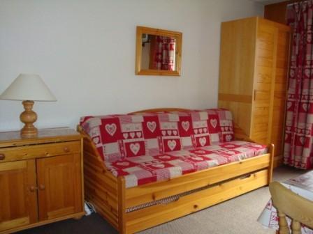 Location au ski Studio 4 personnes (04) - Residence Le Lac Blanc - Mottaret