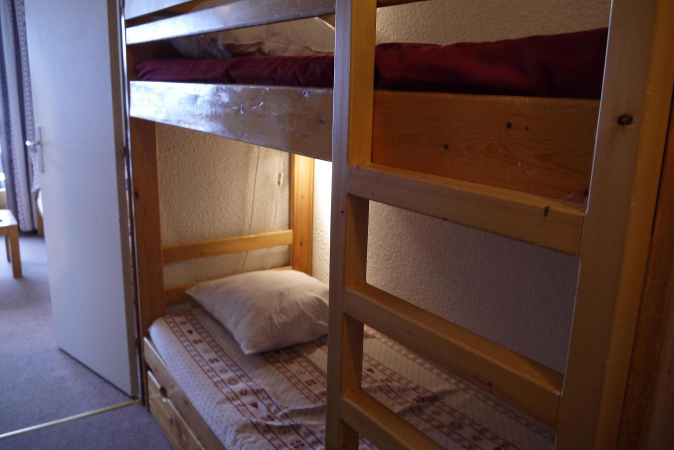 Location au ski Studio 4 personnes (01) - Residence Le Lac Blanc - Mottaret
