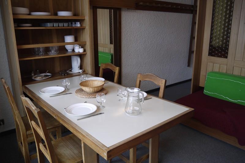 Location au ski Studio 4 personnes (505) - Residence Le Ruitor - Mottaret