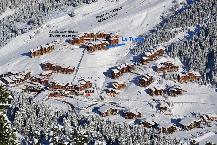Location au ski Appartement 4 pièces mezzanine 8 personnes (18) - Residence Olympie Ii - Mottaret