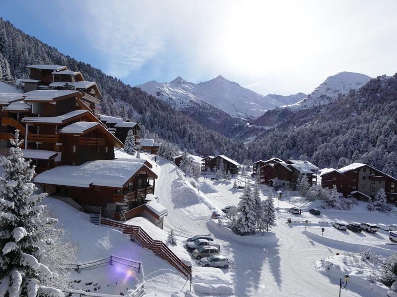 Location au ski Appartement duplex 3 pièces 6 personnes (410) - Residence Plan Du Lac - Mottaret - Coin repas