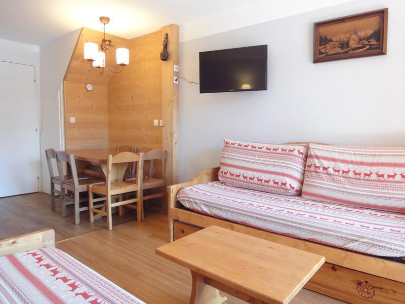 Location au ski Appartement duplex 3 pièces 6 personnes (410) - Residence Plan Du Lac - Mottaret - Lit double