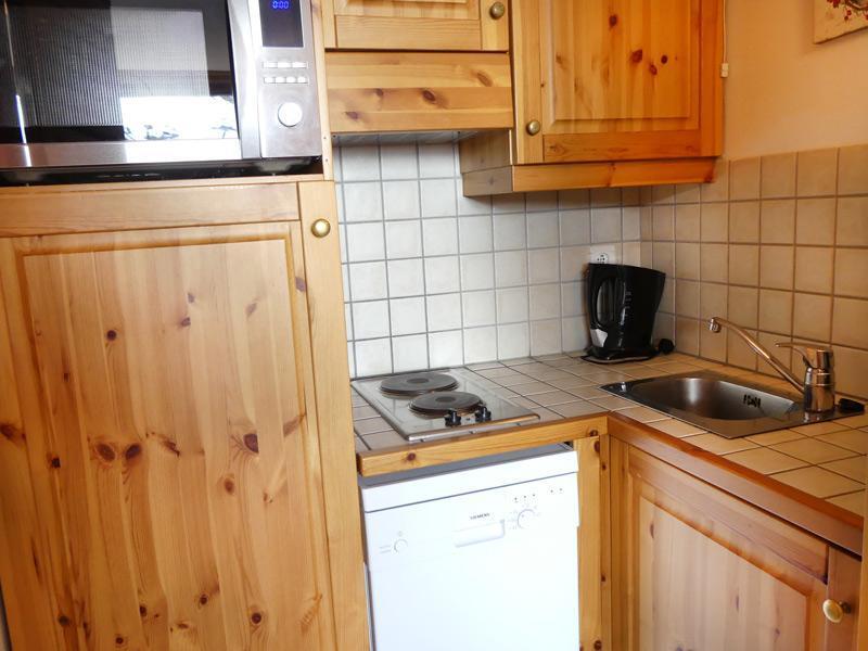 Location au ski Appartement 2 pièces 4 personnes (1100) - Residence Plein Soleil - Mottaret