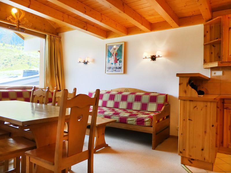 Location au ski Appartement 2 pièces mezzanine 6 personnes (1203) - Residence Plein Soleil - Mottaret