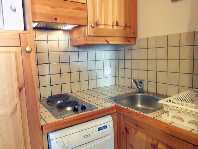 Location au ski Appartement 2 pièces 5 personnes (417) - Residence Plein Soleil - Mottaret - Lits superposés