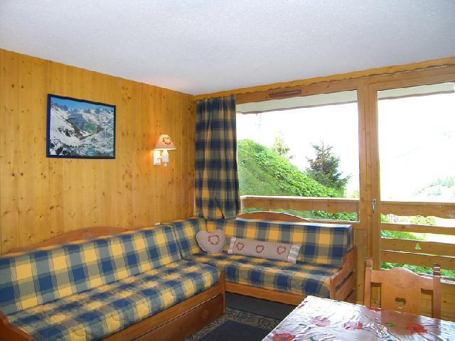 Location au ski Appartement 2 pièces 5 personnes (417) - Residence Plein Soleil - Mottaret - Séjour