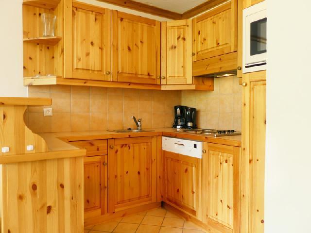 Location au ski Appartement 2 pièces 5 personnes (909) - Residence Plein Soleil - Mottaret - Kitchenette
