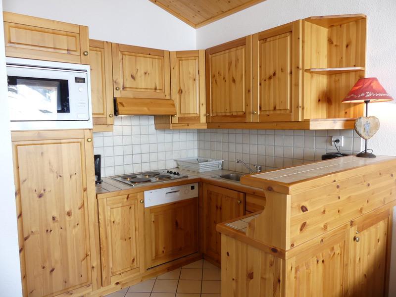 Location au ski Appartement 2 pièces 5 personnes (910) - Residence Plein Soleil - Mottaret - Coin repas