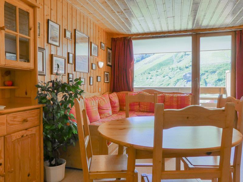 Location au ski Appartement 2 pièces 5 personnes (806) - Residence Plein Soleil - Mottaret - Extérieur hiver