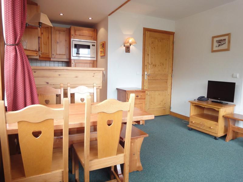 Location au ski Appartement 2 pièces 4 personnes (818) - Residence Plein Soleil - Mottaret - Extérieur hiver