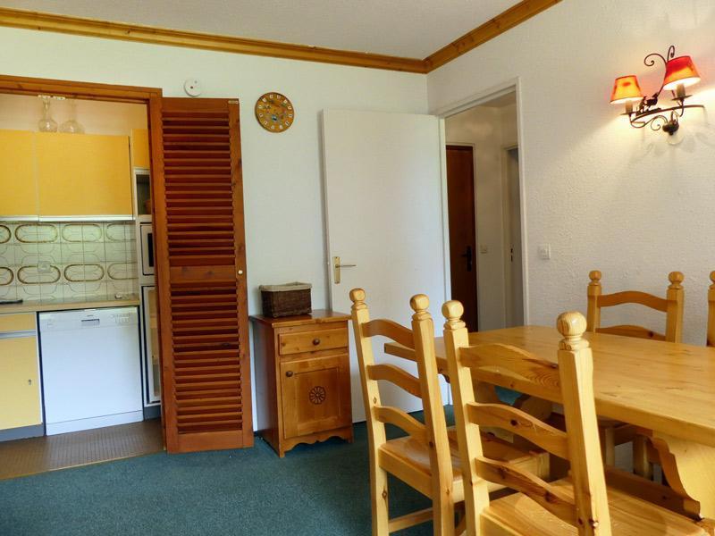 Location au ski Appartement 2 pièces 5 personnes (804) - Residence Plein Soleil - Mottaret - Extérieur hiver