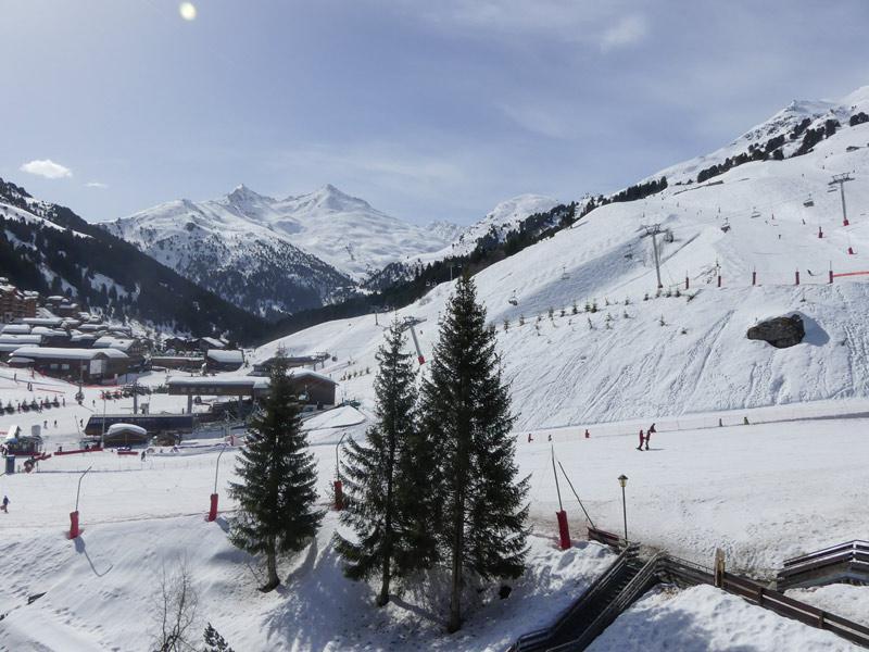 Location au ski Appartement 2 pièces 5 personnes (909) - Residence Plein Soleil - Mottaret - Extérieur hiver