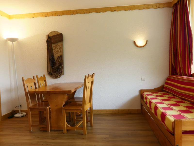 Location au ski Appartement 2 pièces 4 personnes (913) - Residence Plein Soleil - Mottaret - Extérieur hiver