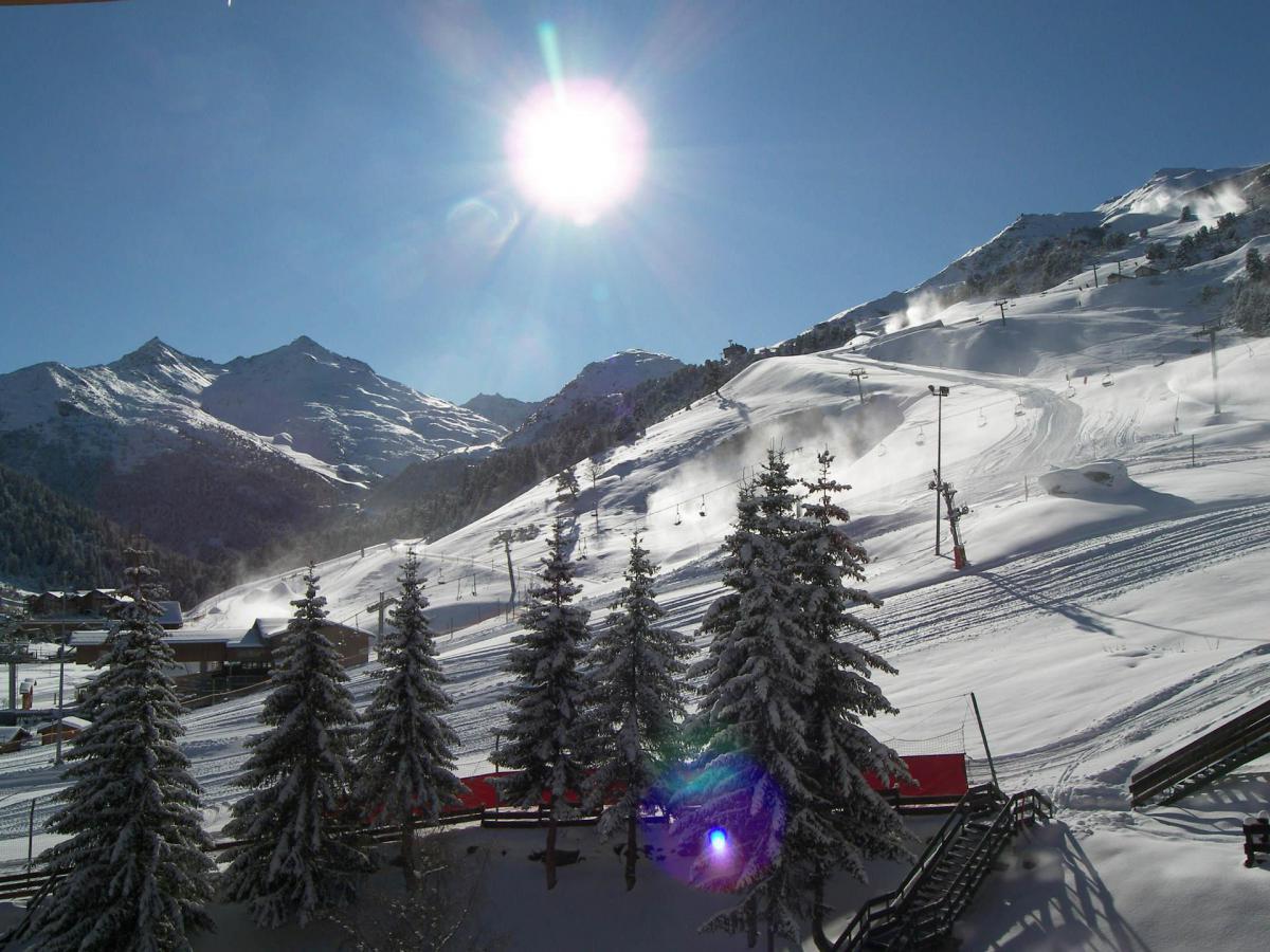 Location au ski Appartement 2 pièces 5 personnes (710) - Residence Plein Soleil - Mottaret - Extérieur hiver
