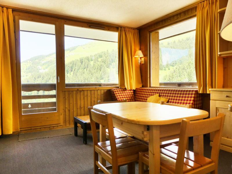 Location au ski Appartement 2 pièces 4 personnes (518) - Residence Plein Soleil - Mottaret - Extérieur hiver